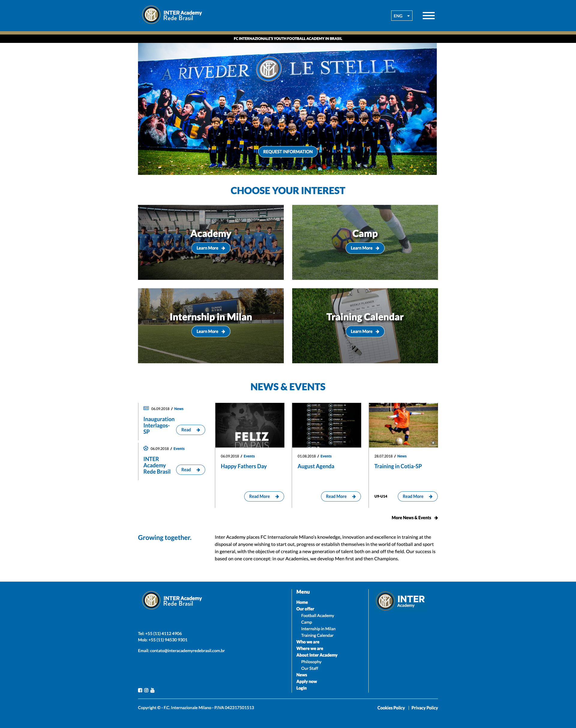 INTER ACADEMY HOME PAGE