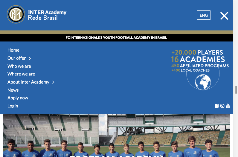 INTER Academy Tablet Nemestic 2018